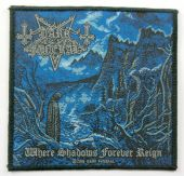Dark Funeral - 'Where Shadows Forever Reign' Woven Patch